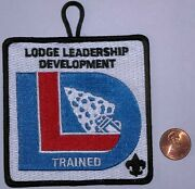 Bsa Oa Boy Scouts Of America Insignia Position Patch Trained Lodge Leadership