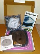 Tupperware Micropro Grill For Microwave - Brand New In Box And Grill Ring