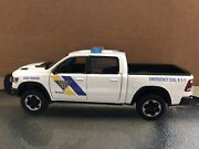 Custom New Jersey State Police 1/27 Scale Diecast Ram Pickup Truck Nonlighted