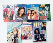 Lot Of 7 Pre-teen Books Disney Taylor Swift High School Musical Up Close And More