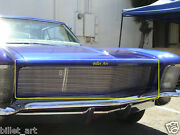 65 Buick Riviera Custom Billet Grille 1965 21 Bars Rails New Replacement