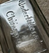 Antique Bottle Undertakers Supply Co. Chicago Illinois 1930and039s Embalming Fluid