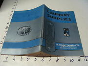 Vintage Laundry Supplies 1930's Catalog, 132pgs