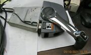 Used Omc Brp Top Binacle Mount Control Box And Trim Switch With 15 Ft. Cables