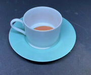 Swid Powell Flip Flop Cup And Saucer - Set Of 8 - Extremely Rare