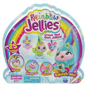 New 4 Pack Rainbow Jellies Surprise Creation Kit Xmas Gift Toys 2020 For Kids Lf