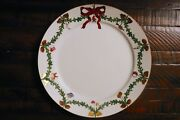Royal Copenhagen Star Fluted Christmas Plate 11 Inches Unused