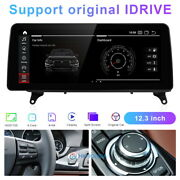 Android Car Gps Navigation 12.3and039and039 Ips Wifi For Bmw X5 X6 E70 E71 2011-2013 Cic