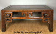 20 Antique Chinese Huanghuali Wood Carving Dynasty Table Desk Antique Furniture