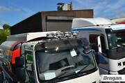Roof Bar + Leds + Led Spots For Mercedes Arocs Classic Low Cab Truck Stainless