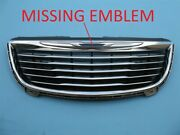 11 12 13 14 15 16 Chrysler Town And Country Front Bumper Cover Upper Top Grille