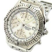 Breitling Chronomat A13352 Automatic Stainless A147a31pa Shell Dial Menand039s Watch