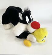 Sylvester And Tweety Huge Vintage Plush 29 Inches Looney Tunes