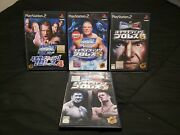 Ps2 Lot Wwe Smack Down [japan Import]