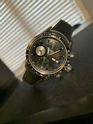 Raymond Weil Freelancer Automatic Chronograph Black Green Watch Rrp Andpound2495