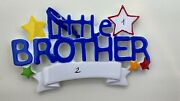 Personalized Christmas Tree Ornament Family Little Brother