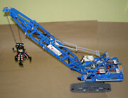 Lego Technic, 42042 Crawler Crane, Complete Parts W/box And Instructions