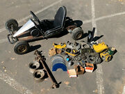 Vintage 1962 Go Kart Mfg. 1200 W/ Gopower Dyna Drive Mcculloch Mc-2 Parts And More