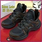 Genuine Leather Arched Sneakers Women Lace Up Fashion Brand Shoes Casual Walking