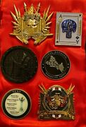 Nypd Lucky 13 Gold Camelot Challenge Coin Lot With Msg Lagos Nigeria