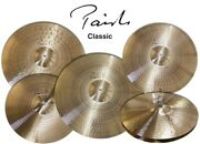 Paiste Signature Classic 6 Piece Cymbal Set/new With Warranty/model 400xs01