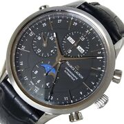Maurice Lacroix Chr Moon Phase Lc6078-ss001 Used Self-wind Menand039s Watch Ec