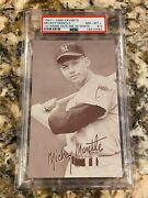 Mickey Mantle Exhibits 1947- 1966 Psa 8.5 New Label Rare Super High End Low Pop