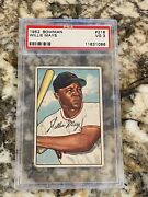 1952 Bowman Willie Mays 218 Psa 3 Centered Sharp Blue Chip Of Hof Great Invest