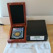 2011 Gold Coin 1oz 200 Canadian Mounted Police Anacs Ms70 And Case.9999 Pure Mint