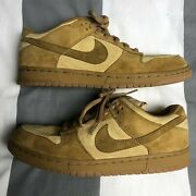 Nike Dunk Low Pro Sb Reese Forbes Wheat Vintage 2002 304292 731 Mens Us 10