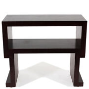 Contemporary Custom Wood Console Table In The Style Of Luisa Peixoto