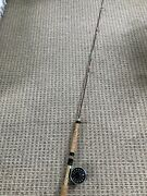 Abu Garcia Fly Max 389 Reel And 7' Fly Rod /2 Pc Loaded With 5 Wt Line