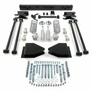 Fits Ford 1967-72 Truck F-100 Rear Parallel 4-link Suspension Kit + Coilover Fe