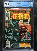 Eternals 1 Origin And 1st Appearance Of The Eternals Cgc 9.4 0701654017