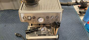 Breville Barista Express Espresso Machine Stainless Steel Bes870xl Sold As Is