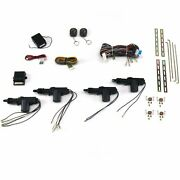 4 Door Remote Control Central Lock Locking Kit Hot Rod Truck Muscle Car Alarm