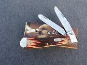 Case Xx A 1997 Red Stag Trapper Knife Knives