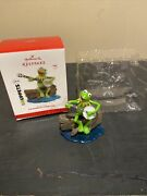 Hallmark Muppets Kermit The Frog Rainbow Connection Ornament 2013 Tested Works