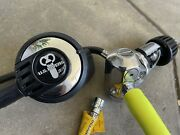 Us Divers Sea 4 Scuba Dive First And Second Stage Regulator Lp Inflator Hose