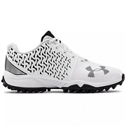 Under Armour Ua Finisher Turf Womens Lacrosse Shoes Cleats White Pick Size
