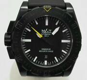 Mat Watches Ag6.1 Demineur Used Watch Special M Military Self-wind Menand039s Blk Ec