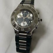 Used Watch Chronoscuff Menand039s Analog Menand039s Quartz Rare From Japan