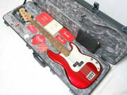 2018 Make Fender Usa American Professional Precision Bass Amepro With Hard Case