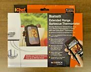 Ichef Maverick Series Bluetooth Extended Range Bbq Thermometer - New In The Box