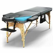 Premium Memory Foam Massage Table - Easy Set Up - Foldable And Portable With