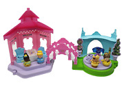 Fisher Price Little People Princess Garden Party Playset Talking W/ 4 Figures