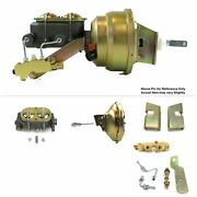 1963-66 Chevy Truck F.wall Mount Power 11 Single Brake Booster Kit Ls Disc/drum