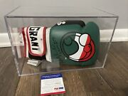 🔥evander Holyfield Signed Boxing Glove Autographed Psa Dna Coa With Case Auto🔥