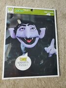 Whitman Sesame Street The Count Counts Children Frame-tray Puzzle 4517b 1977