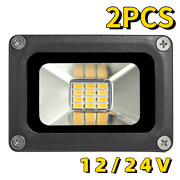 10w Led Super Bright Security Floodlights Outdoor Spot Lamps Garden Garage Lawn